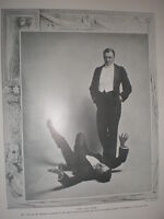 Printed Photo Herbert Tree In The Van Dyck His Majesty's Theatre London 1907 -  - ebay.co.uk