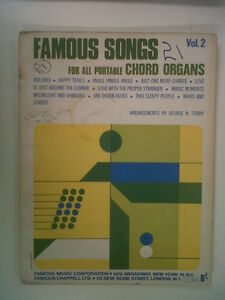 FAMOUS-SONGS-for-all-portable-CHORD-ORGANS-Vol-2-Terry