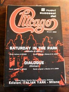 CHICAGO-SATURDAY-IN-THE-PARK-DIALOGUE-SPARTITI