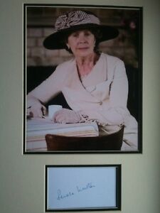 PENELOPE-WILTON-AWESOME-ACTRESS-SIGNED-COLOUR-DOWNTON-ABBEY-DISPLAY