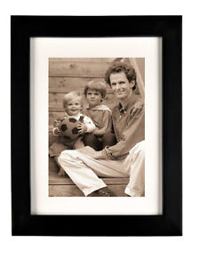 wooden picture photo frame 11x14 matte to 8x10 #8300