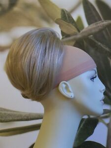 HONEY-BLONDE-BEEHIVE-BUN-HAIR-PIECE-UPDO-EXTENSION-24H-UK-SELLER
