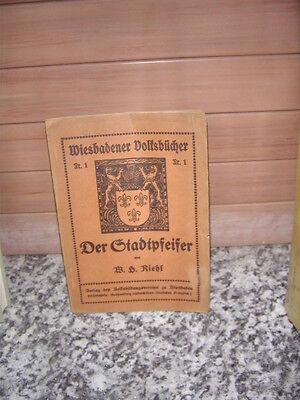 Der Stadtpfeifer, eine Novelle von Wilhelm Heinrich Rie