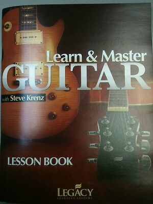Learn and Master Guitar Lesson Book on Rummage