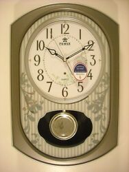 Power Melodies in Motion pendulum wall clock (PW6135FPMKS)
