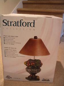 lampe en forme de fruits - NEW IN BOX