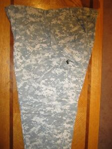 US ACU Comabat Pants X-Large/Short Rip-Stop.