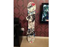 HEAD Tribute i Snowboard & ROME 390 Bindings