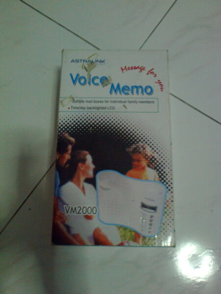 Voice recording device,