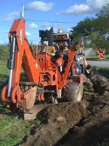 Post Hole Drilling Trenching Small Hydro Excavation Vaccum Belleville Belleville Area image 6