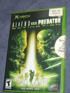 Aliens vs. Predator: Extinction (Xbox) NEW ((Sealed)) RARE!!!