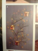 PARTYLITE Discontinued Twig and Leaf Versatility Sconce