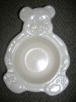 GREAT BABY GIFT - PLATZGRAFF BABY BEAR BOWL WHITE NEW