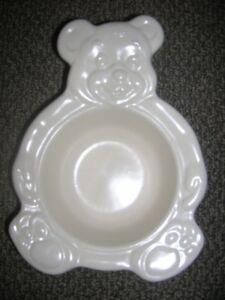GREAT BABY GIFT - PLATZGRAFF BABY BEAR BOWL WHITE NEW