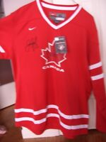 Signed 2010 Team Canada Replica Jersey, Signed by Jarome Iginla