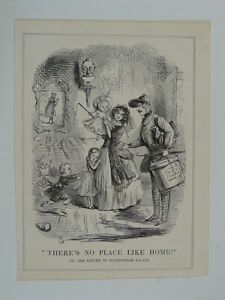 PUNCH-cartoon-1845-there-s-no-place-like-like-home-buckingham-palace