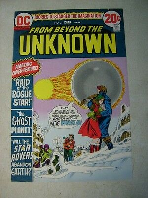 FROM BEYOND THE UNKNOWN #21 COVER ART, original approval cover proof, SCI FI