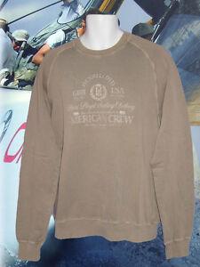 Henri Lloyd Bmw American Crew Vintage Sweatshirt Salt Washed Khaki Ebay