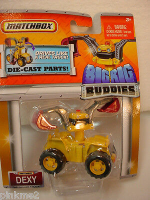 2011 Matchbox Big Rig Buddies Dexy The Digger Truck