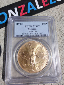 1821-1947-PCGS-MS67-50-PESO-UNCIRCULATED-MEXICO-GOLD-COIN-1-205-OZ-BU-CENTENARIO