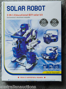 SOLAR-TOY-EDUCATIONAL-ROBOT-KIT-3-MODELS-to-BUILD-EDUCATIONAL-FUN-No-Batteries