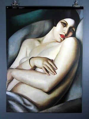 Tamara De Lempicka, rafaela Sur Fond Vert Poster 27 X 37 Inches
