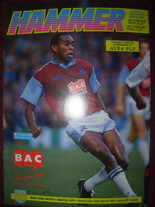 WEST-HAM-UNITED-v-BRISTOL-CITY-1990-91-DIVISION-2