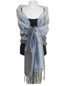 Ladies Stunning Various Styles & Colours Shawl Stole Wrap Scarf Weddings Bridal