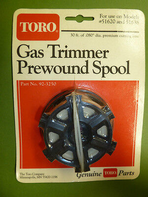 Toro String Trimmer Prewound Spool Part 92 - 3250