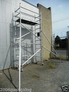 SCAFFOLD-Aluminum-folding-MOBILE-scaffolding-tower