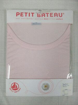 PETIT BATEAU Women's Pink LS T-Shirt 75547 Sz 18 Years L NEW $43