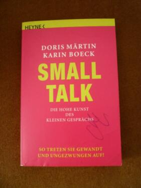 doris m rtin karin boeck small talk ratgeber in nordhorn. Black Bedroom Furniture Sets. Home Design Ideas