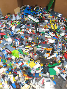 LEGO-500-pieces-bulk-lot-great-condition-from-all-sets