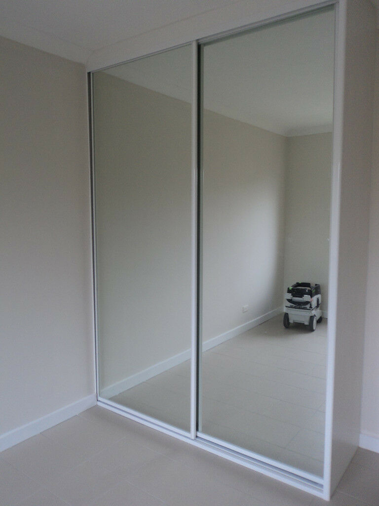 wardrobe sliding doors made to measure up to 3 6m aud picclick au. Black Bedroom Furniture Sets. Home Design Ideas