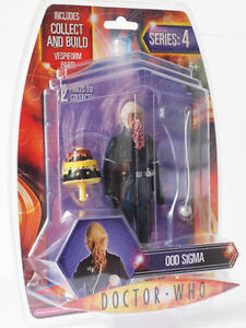 Doctor Who OOD SIGMA Figure - Series 4  COLLECT & BUILD Brand NEW Dr Vespiform