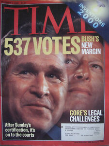 TIME-MAGAZINE-DECEMBER-4-2000-BUSHS-NEW-MARGIN-BUSH-AND-GORE-LEGAL-CHALLENGES