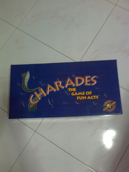 CHARADES The Game of Fun acts