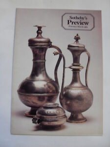 SOTHEBYS-PREVIEW-FEBRUARY-MARCH-1983