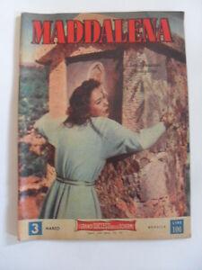 CINEROMANZO-MADDALENA-REGIA-GENINA-ED-AVA-1954