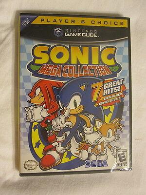 Sonic Mega Collection (nintendo Gamecube) Brand New, Sealed