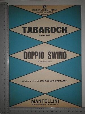 Compositore Mantellini - Tabarock - Doppio swing - Bologna - 1961