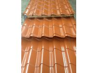 Tile Effect Roofing Sheets, Various colours available ** MANUFACTURER**