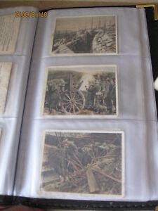 Cartes de la collection ''Der weltkrieg'' à vendre ou à échanger
