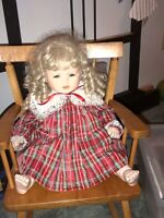 Porcelain Doll- not for TOY use