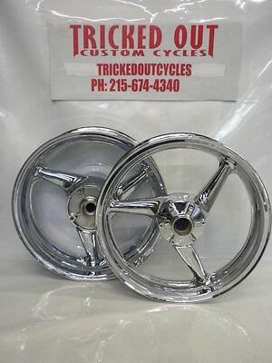 00 01 02 03 Honda Cbr 929 954 Stock Chrome Rims For Exchange For Your Rims