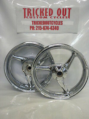 00 01 02 03 Honda Cbr 929 954 Stock Chrome Rims For Exchange For Your Rims