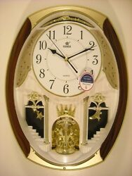 Power Melodies in Motion Oval Crowning Pendulum wall clock (PW6229ARMKS)