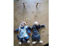 Zwei Marionetten Nordrhein-Westfalen - Gronau (Westfalen) Vorschau