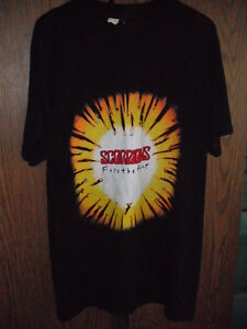 The Scorpions Face  the Heat tour tshirt