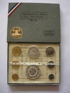 1969 COFFRET MONNAIE DE PARIS COMPLET SOUS BLISTER MDP FDC BU AVC HERCULE ARGENT - France - Lot, Coffret: Coffret - France